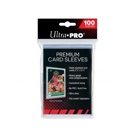 100 protèges cartes transparents de marque ULTRA PRO