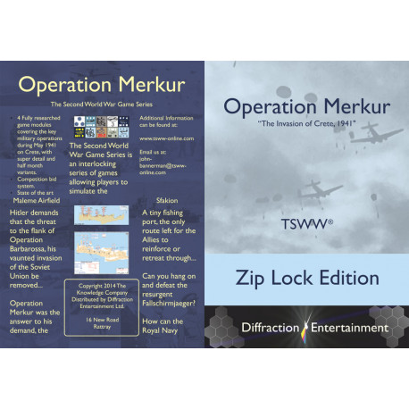 TSWW : Operation Merkur Colonel's edition
