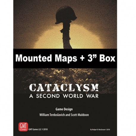 Cataclysm : Mounted maps + box