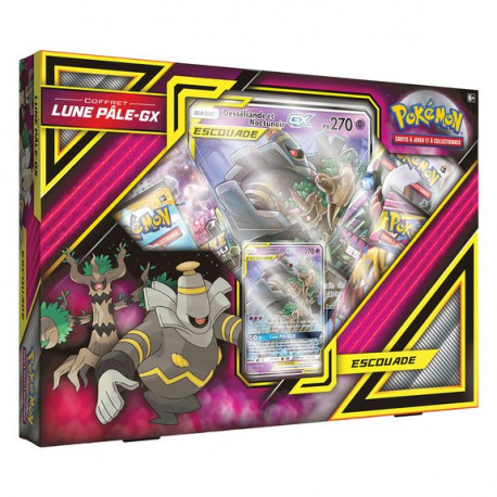 Coffret Pokémon Lune Pâle-GX
