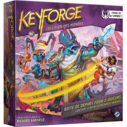 Keyforge - Collision des Mondes - Boite de départ