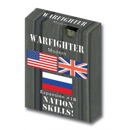 Warfighter Modern - Nation Skills - Exp 18