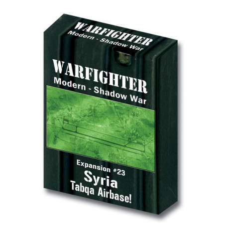 Warfighter Shadow War - Syria Tabqa Airbase - Exp 23