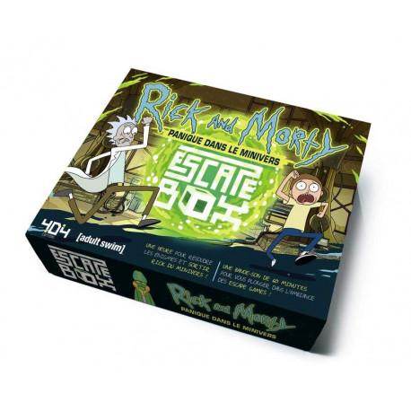 Escape Box Rick and Morty : Panique dans le Minivers - French Version