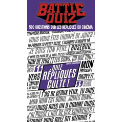 Battle Quiz : Répliques Cultes - French version