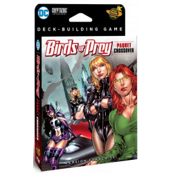 Boite de DC Comics - jeu de Deck Building - extension Birds of Prey
