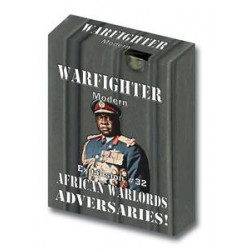 Boite de Warfighter Modern - African Warlords Adversaries - Exp 32