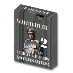 Boite de Warfighter Modern - African Warlords Adversaries 2 - Exp 33