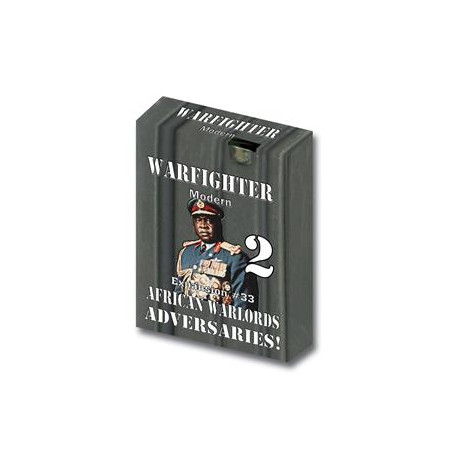Warfighter Modern - African Warlords Adversaries - Exp 32