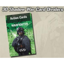 Boite de Warfighter Modern - Shadow War Card Dividers - Exp 35