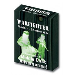 Boite de Warfighter Modern - Shadow War Middle East Adversaries - Exp 39