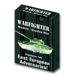 Boite de Warfighter Modern - Shadow War East European Adversaries - Exp 40