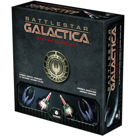 Battlestar Galactica: Starship Battles - French version