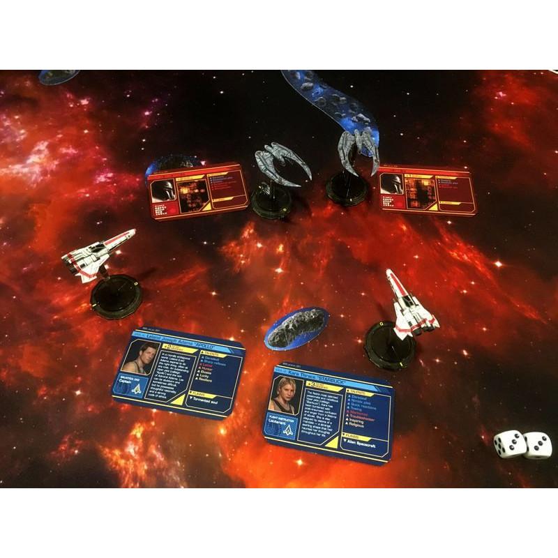 battlestar galactica starship battles