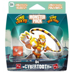 King of Tokyo : Monster Pack : Cybertooth