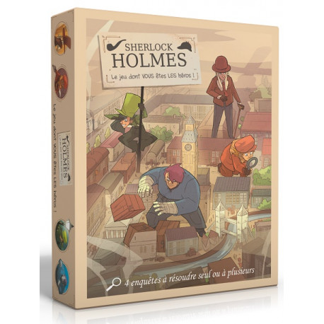 Sherlock Holmes : le jeu dont vous êtes le héros