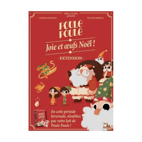 Poule Poule - extension Joie et Oeufs de Noël