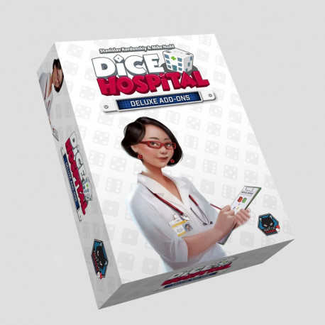 Dice Hospital - Deluxe Add-ons expansion - French version