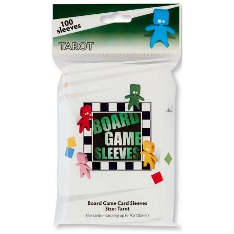100 Board game Sleeves Tarot 70x120mm