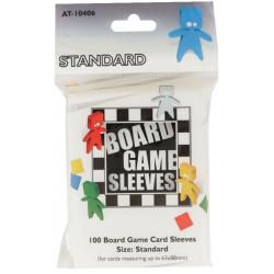 100 Board game Sleeves standard 63x88mm