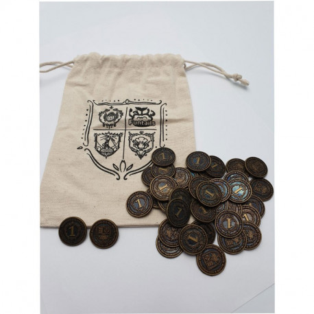 Glen More II Chronicles - 40 coins Metal with purse limited Ed.