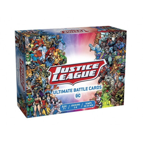 Justice League Ultimate Battle Cards - French version