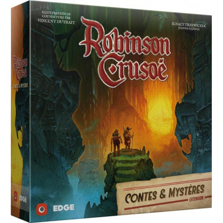 Robinson Crusoé - Contes & Mystères (Ext) - French version