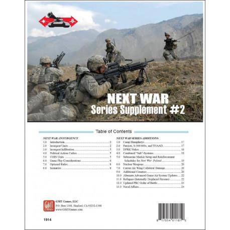 Next War : Supplement 2