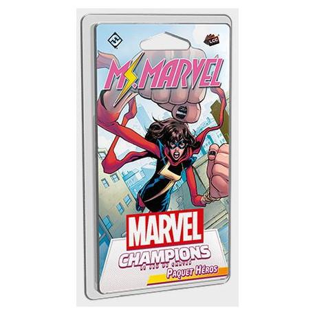 Marvel Champions : Le Jeu de Cartes - Paquet Héros Miss Marvel