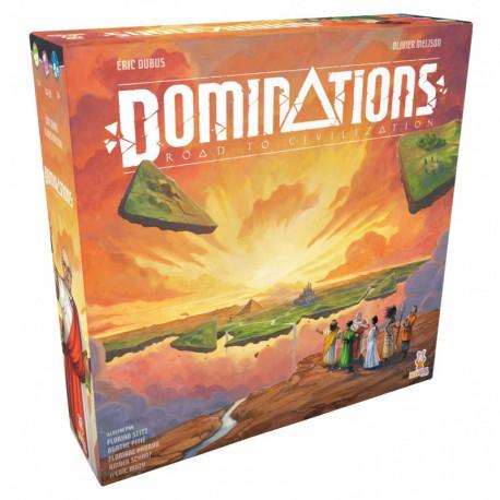 Dominations - Road to Civilization - Kickstater Civilization Pledge - French version