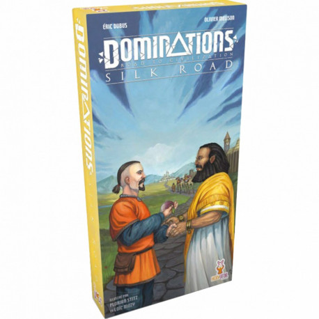Dominations - Road to Civilization - Silk Road add-on - French version