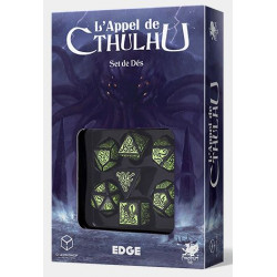 Set de dés officiels L'Appel de Cthulhu