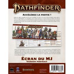 Pathfinder 2 - écran du MJ : portrait