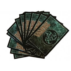 paquet de 50 protège cartes Bibliothèque V:TES