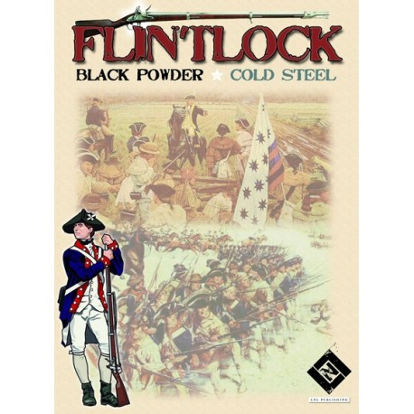 Flintlock : black powder, cold steel
