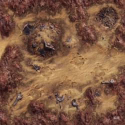 Star Wars Legion : Desert Junkyard Gamemat