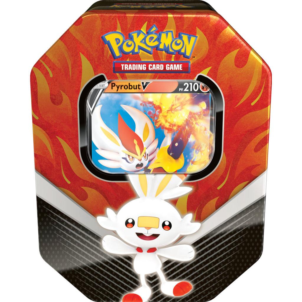 Pyrobut-V Pokébox Galar Partenaires Français Neuf Pokémon