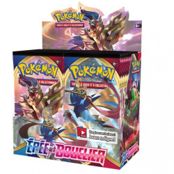 Display 36 Boosters Pokémon épée et bouclier