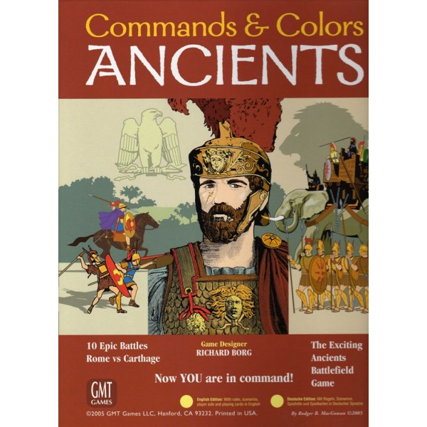 Comhommed and  Couleurs Ancients   Rome vs voiturethage, GMT Games  approvisionnement direct des fabricants