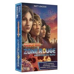 Pandemic Zone Rouge - Amérique du Nord - French version