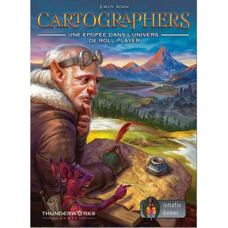 Cartographers - une épopée dans l'univers de Roll Player