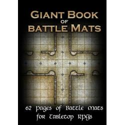 Livre plateau de jeu modulaire - Giant Book of Battle Mats