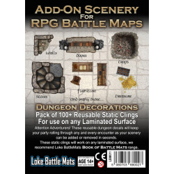 décorations additionnelles pour Dungeon Books