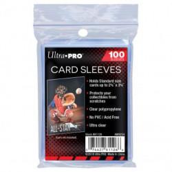 100 protèges cartes transparents de marque ULTRA PRO