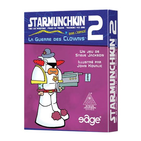 Star Munchkin 2 : La Guerre des Clowns