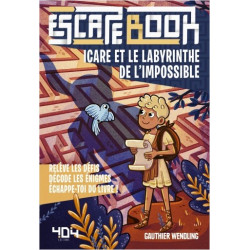Escape Book Jr : Icare et le labyrinthe de l'impossible