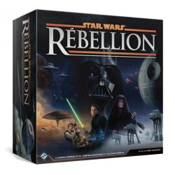 Star Wars Rebellion + sleeves + tray - occasion B+