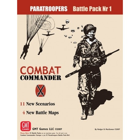 Combat Commander Paratroopers Battle pack n°1