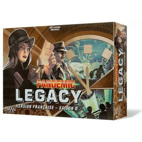 Pandemic Legacy Season 0 - French version