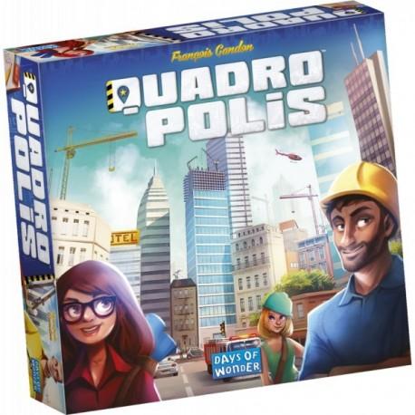 Quadropolis + promo tile - used